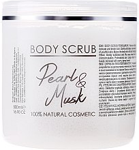 Düfte, Parfümerie und Kosmetik Körperpeeling Pearl Musk - Sezmar Collection Professional Body Scrub Pearl Musk