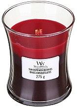 Düfte, Parfümerie und Kosmetik Duftkerze im Glas Sun Ripened Berries - WoodWick Hourglass Trilogy Candle Sun Ripened Berries