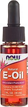 Düfte, Parfümerie und Kosmetik Ätherisches Öl mit Vitamin E - Now Foods Oil