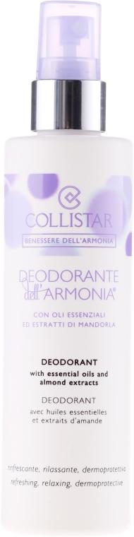 Deospray mit ätherischen Ölen und Mandelextrakten - Collistar Benessere Dell'Armonia Deodorant — Bild N1