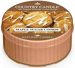 Düfte, Parfümerie und Kosmetik Duftkerze Maple Sugar Cookie - Country Candle Maple Sugar Cookie Daylight