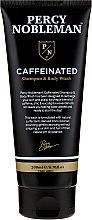 Düfte, Parfümerie und Kosmetik Gel-Shampoo für Haar und Körper mit Koffein - Percy Nobleman Caffeine Shampoo & Body Wash