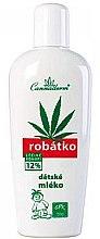 Düfte, Parfümerie und Kosmetik Körpermilch für Kinder mit sehr empfindliche Haut - Cannaderm Robatko