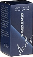 Düfte, Parfümerie und Kosmetik Flüssige Foundation - Kryolan Ultra Fluid Foundation