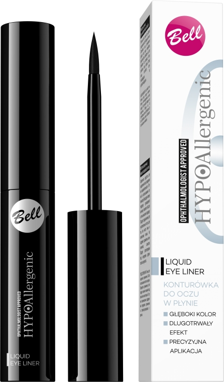 Hypoallergener flüssiger Eyeliner - Bell HypoAllergenic Liquid Eye Liner — Bild N1